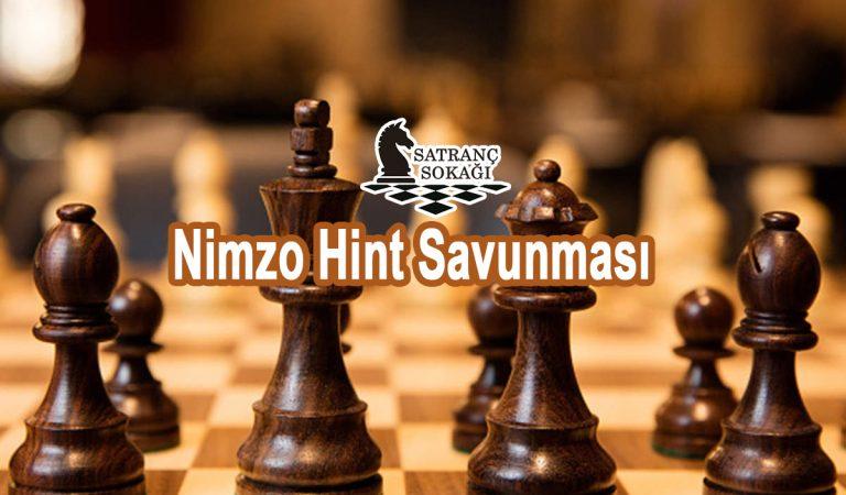 Nimzo Hint Savunması Analizli Oyun
