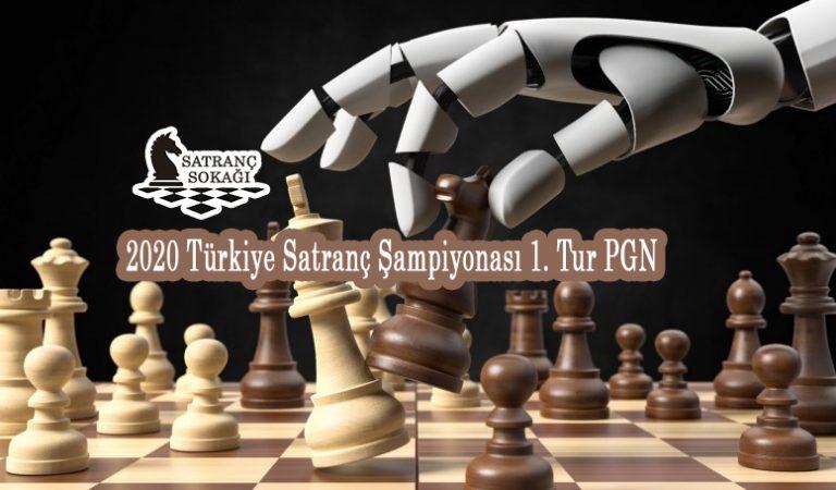 2020 Türkiye Satranç Şampiyonası 1. Tur PGN
